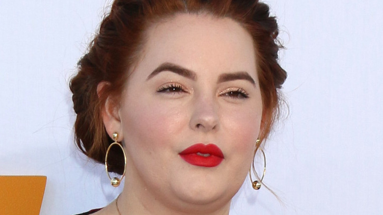 Tess Holliday on a red carpet