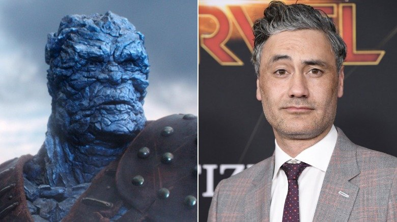 Korg and Taika Waititi