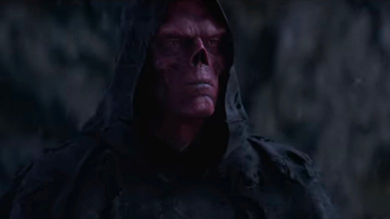 who played red skull in infinity war