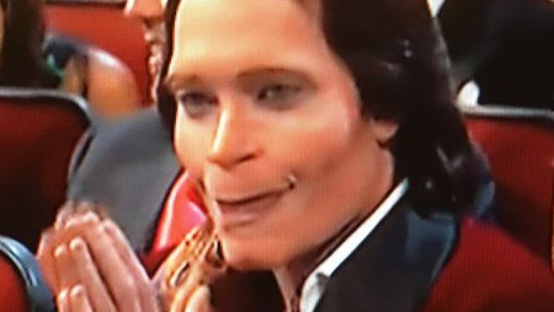 Donald Glover as Teddy Perkins at the 2018 Emmy Awards
