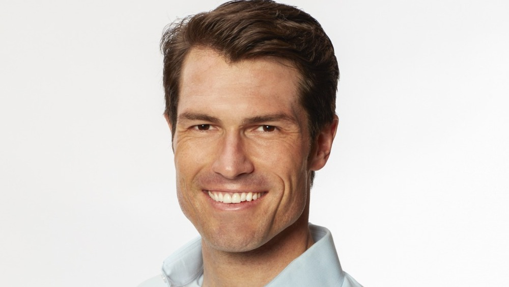 Bennett Jordan smiles for his Bachelorette photo