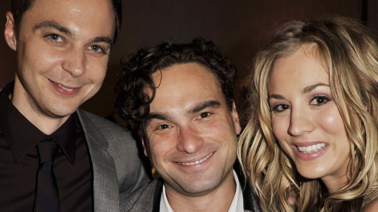 Jim Parsons Johnny Galecki Kaley Cuoco