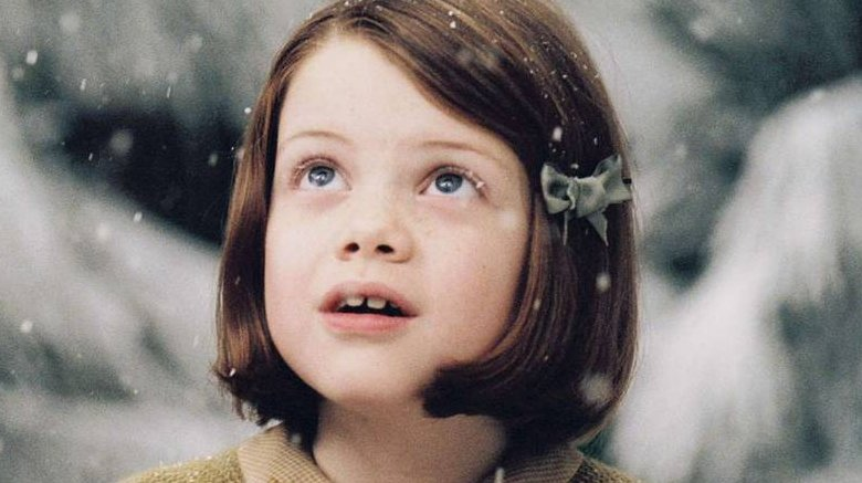 Georgie Henley as Lucy Pevensie in Chronicles of Narnia
