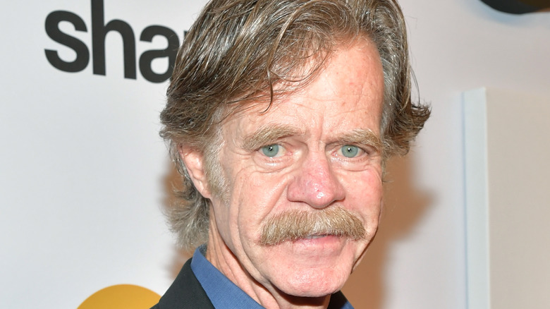 William H Macy at a red carpet event