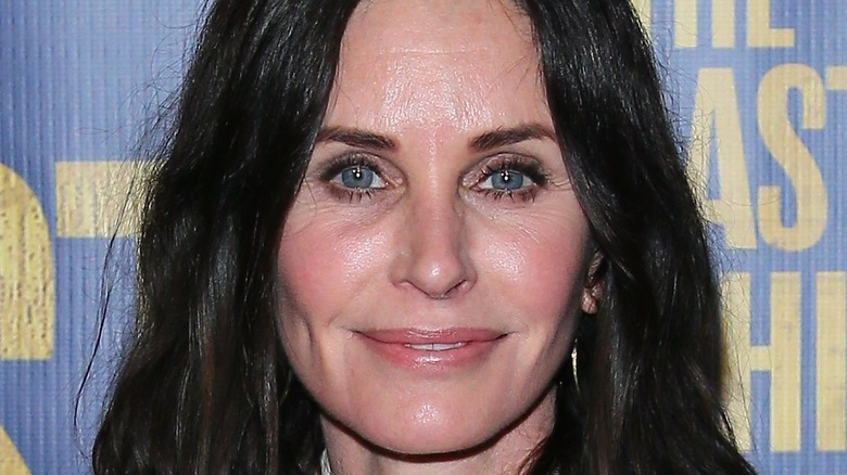 Courteney Cox attends the The Last Ship Opening Night Performance