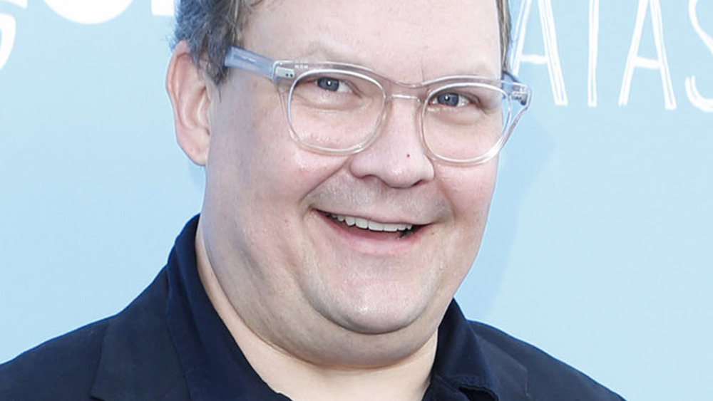 Andy Richter with a goofy smile