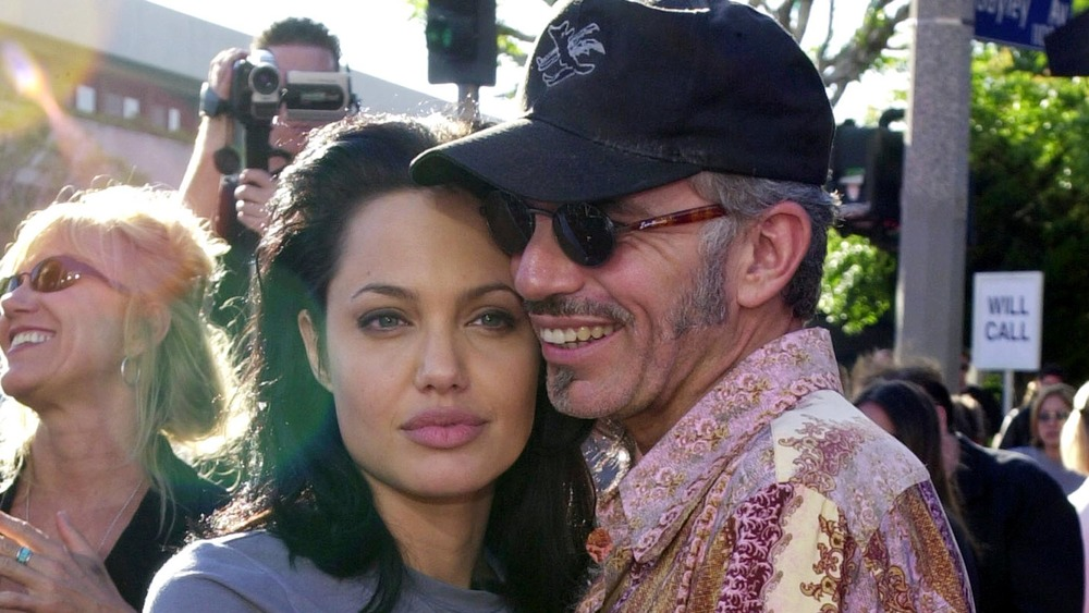 Angelina Jolie and Billy Bob Thornton on red carpet