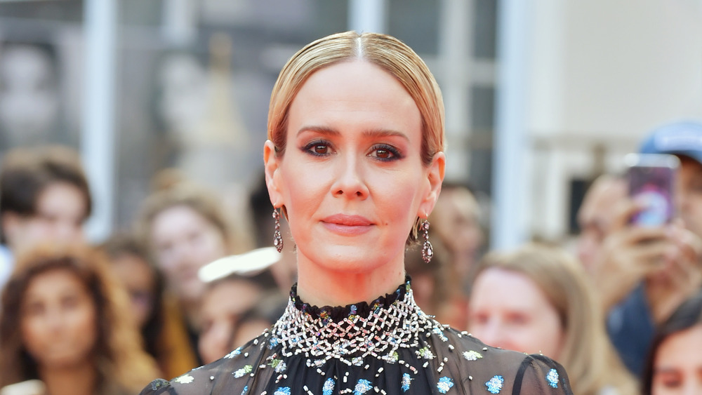 Sarah Paulson on red carpet