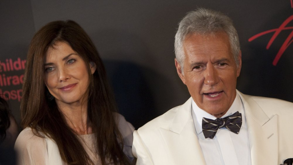 The one thing Alex Trebek regrets about meeting his wife