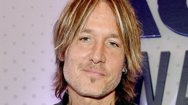 Keith Urban smiling