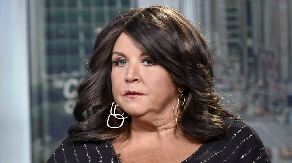 Abby Lee Miller visits the set of 'The Claman Countdown' at Fox Business Network Studios