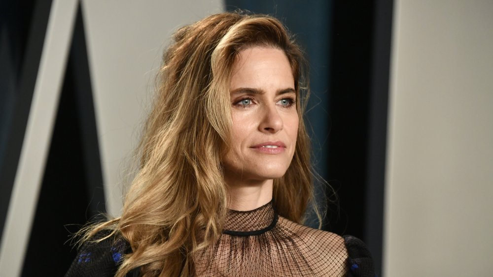 Amanda Peet attends the 2020 Vanity Fair Oscar Party hosted by Radhika Jones at Wallis Annenberg Center for the Performing Arts