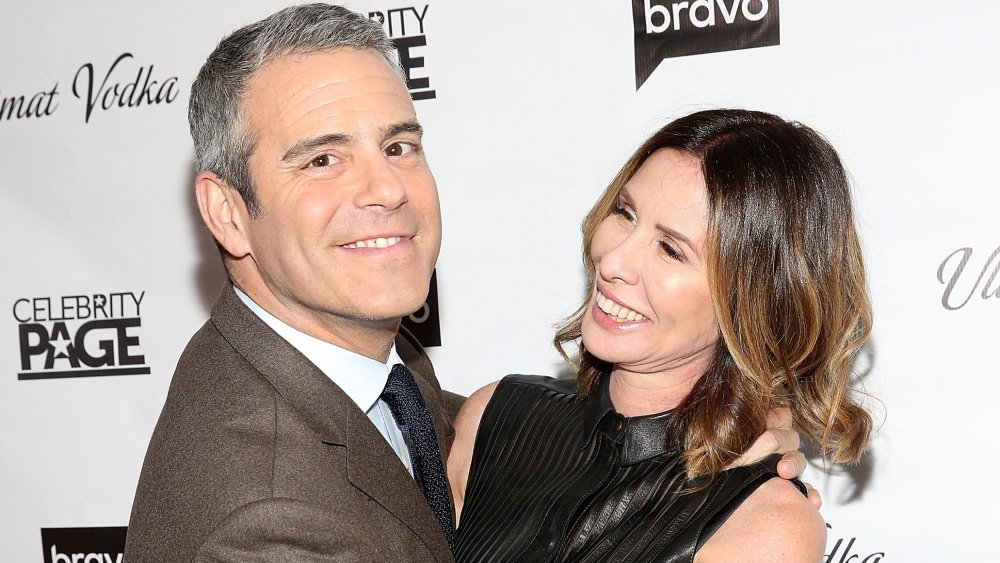 Carole Radziwill and Andy Cohen