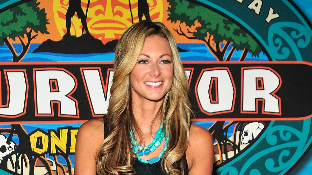 Chelsea Meissner at the Survivor: One World finale