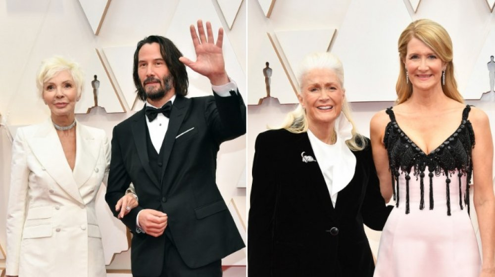 Laura Dern and Diane Ladd, Keanu Reeves and his mom