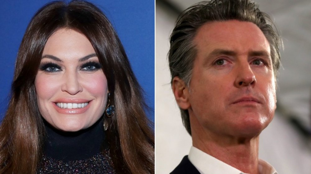 Kimberly Guilfoyle, Gavin Newsom