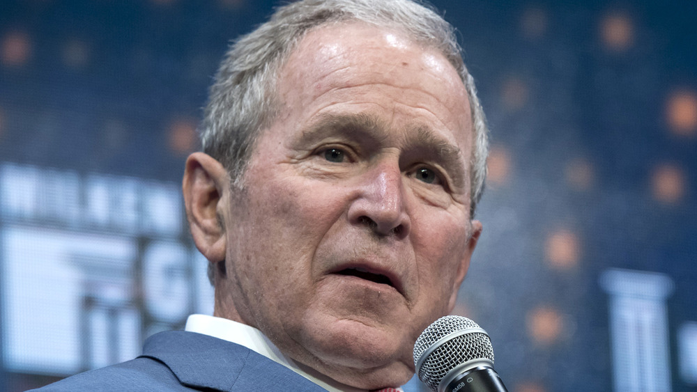George W. Bush speaking at an event
