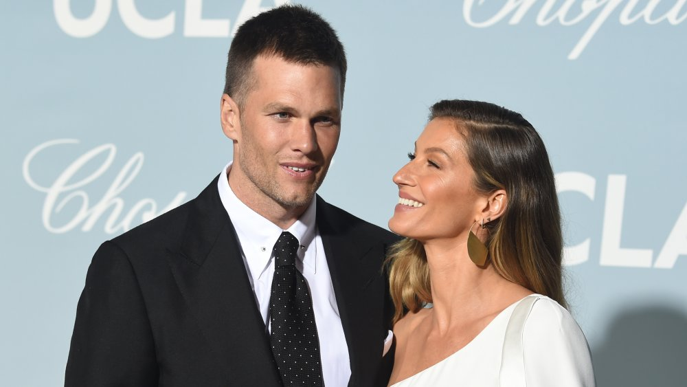 Tom Brady and Gisele Bündchen attends the 2019 Hollywood For Science Gala