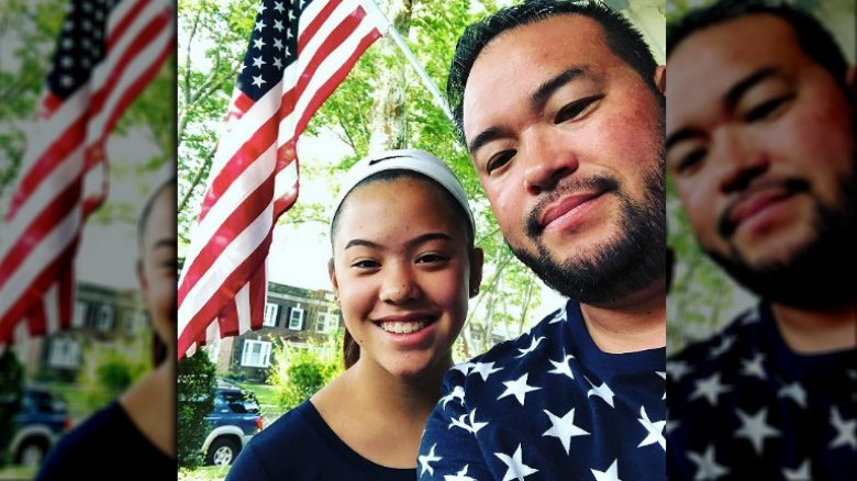 Hannah and Jon Gosselin
