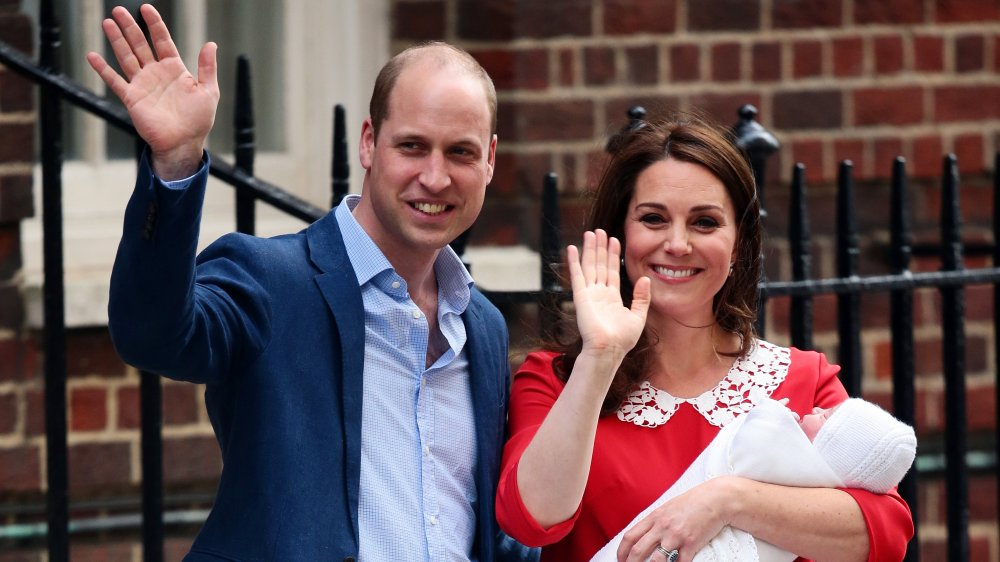 Prince William, Kate Middleton, Prince Louis