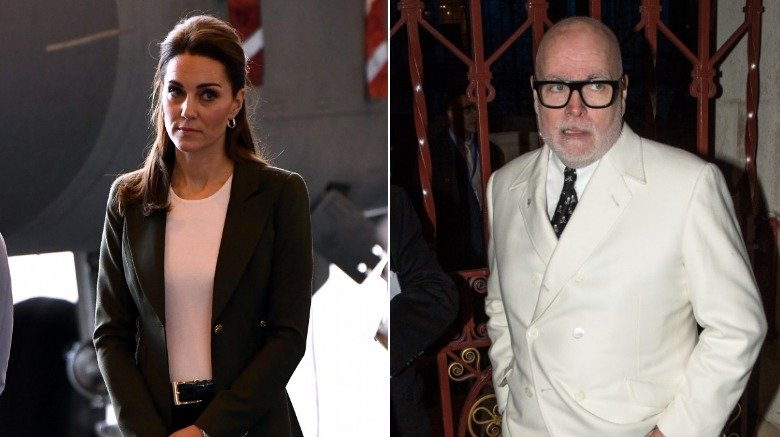 Kate Middleton and uncle Gary Goldsmith