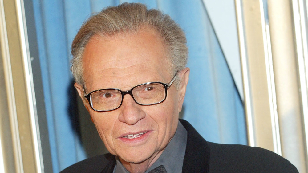 Larry King attends a gala in 2005