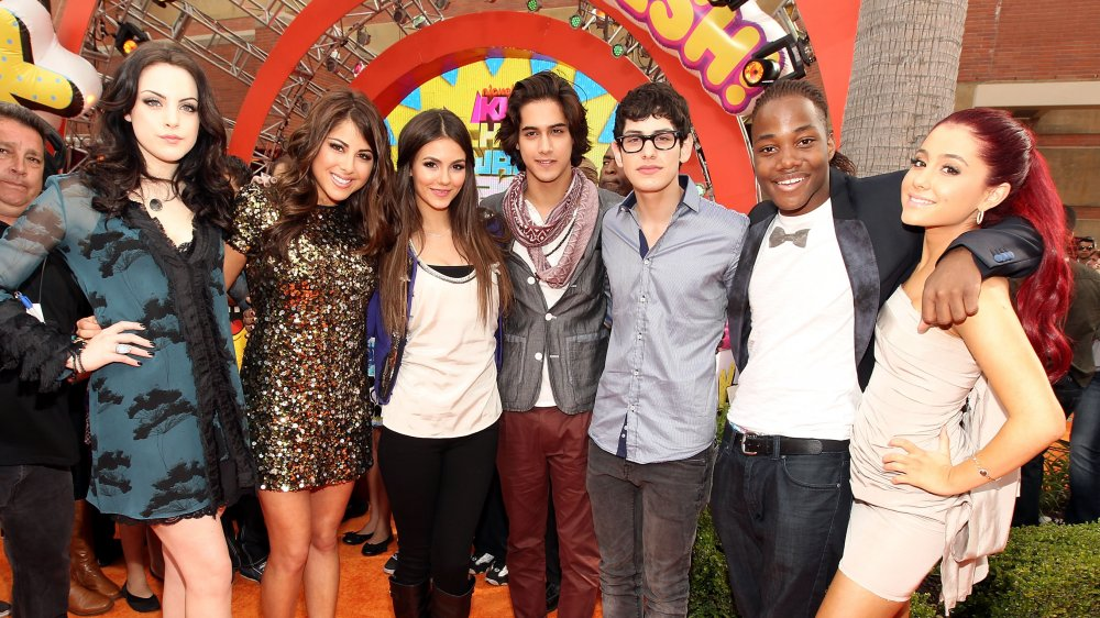 The Victorious cast at the Kids Choice Awards
