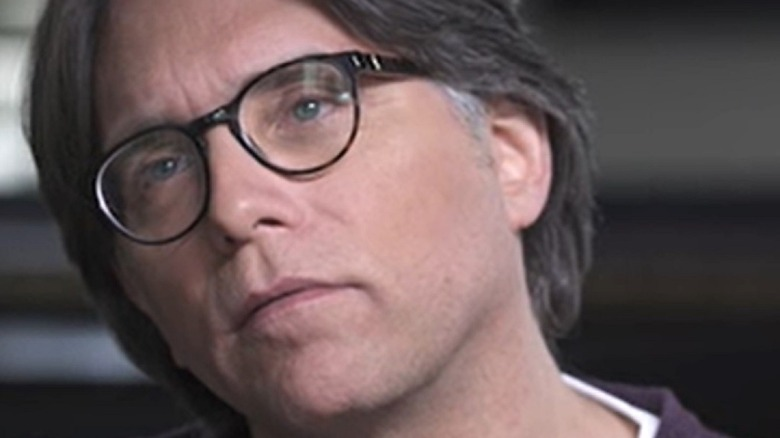 Keith Raniere during an interview