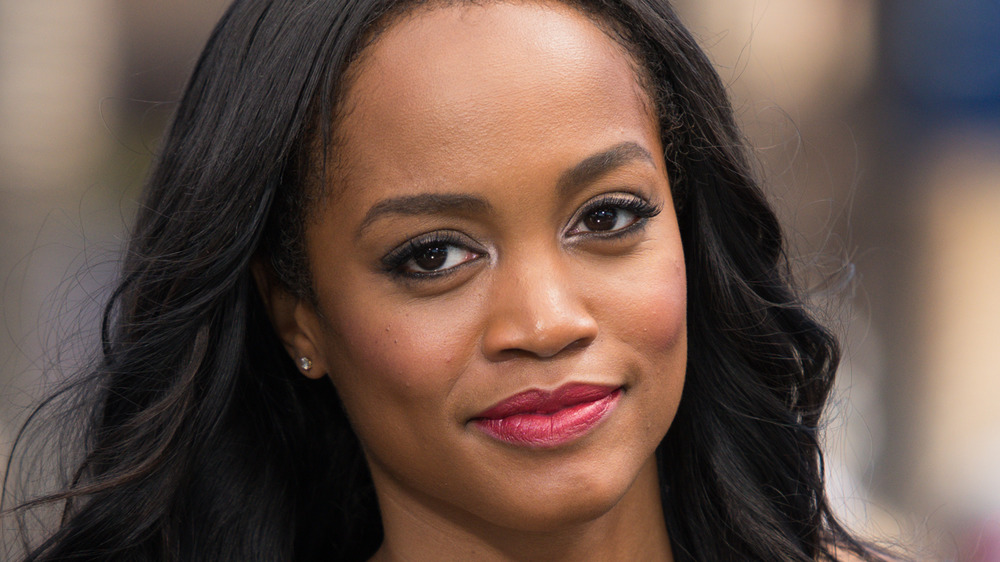 Rachel Lindsay looking into camera