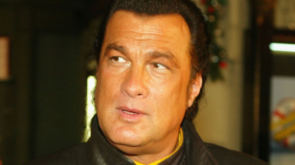 Steven Seagal at Godzilla premiere