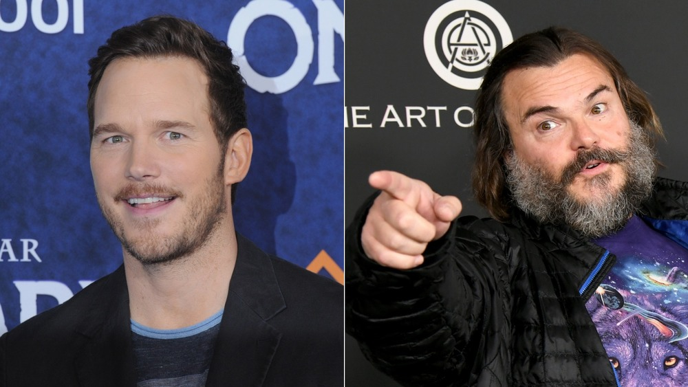 Chris Pratt and Jack Black