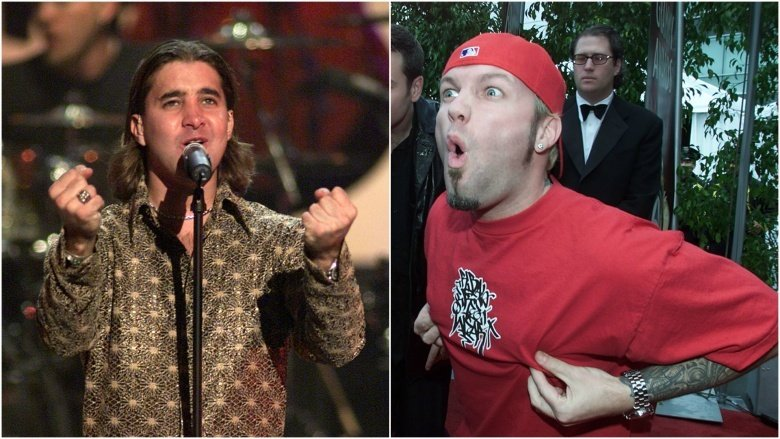 Creed's Scott Stapp and Fred Durst