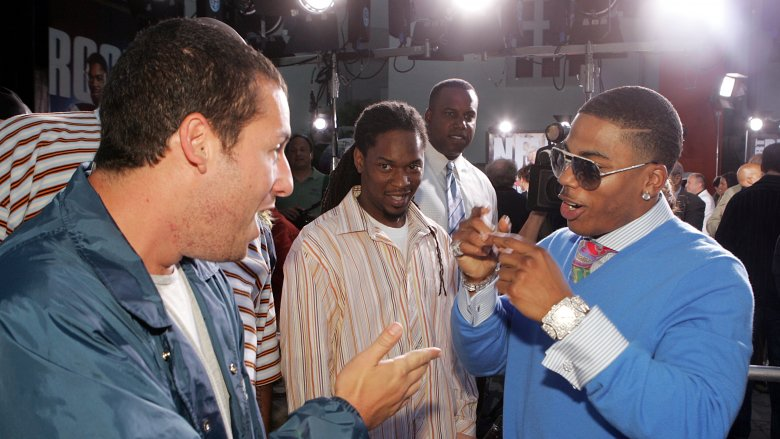 Adam Sandler and Nelly