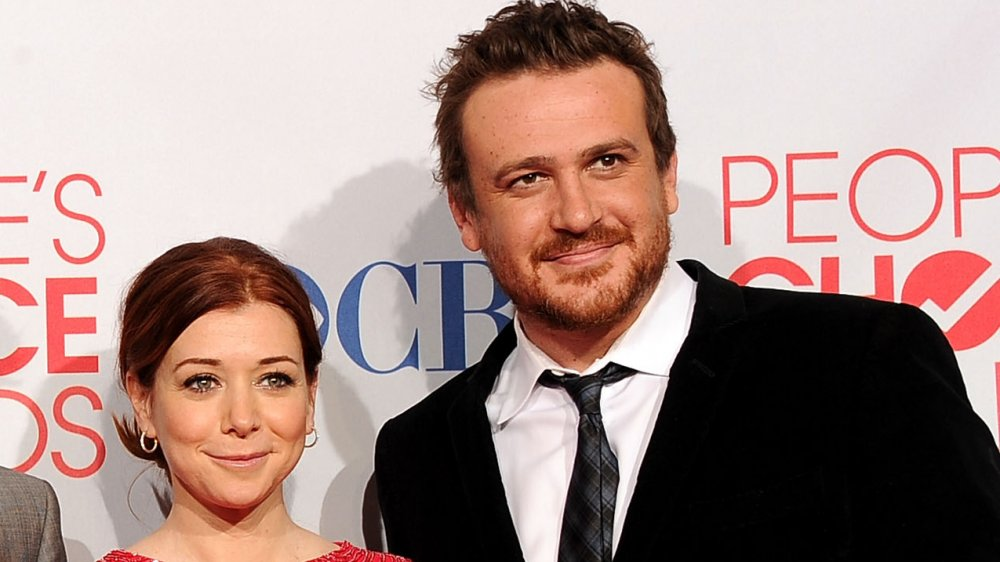 "Alyson Hannigan and Jason Segel of ""How I Met Your Mother"""