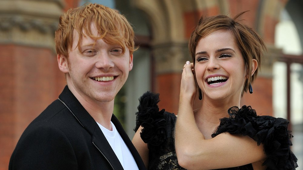 The factor Rupert Grint really did not wish to kiss Emma Watson in Harry Potter