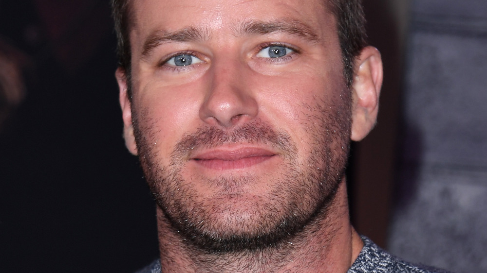 Armie Hammer smiling
