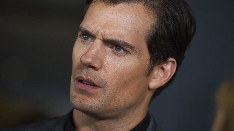Henry Cavill looking confused