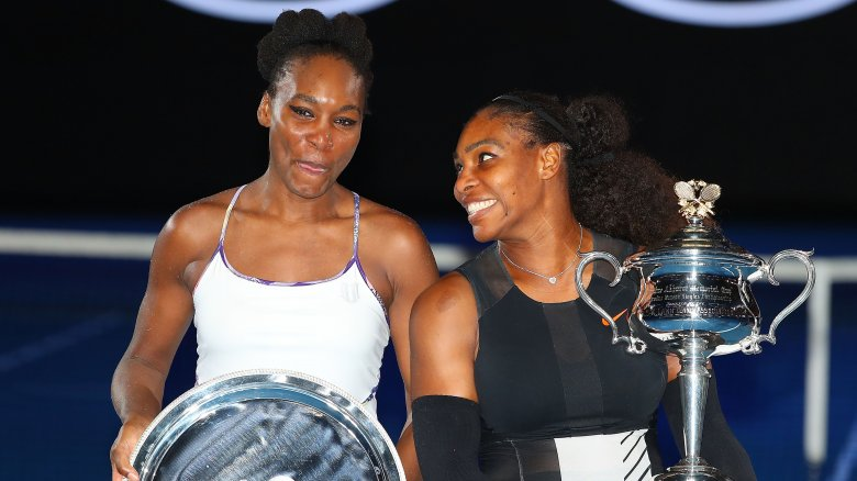 Venus Throws Herself At Waiting Arms Of >> The Shady Side Of The Williams Sisters