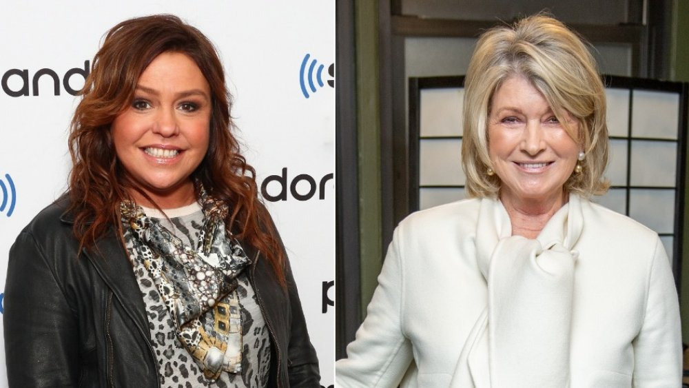 The Shady Truth About Rachael Ray And Martha Stewart's Feud