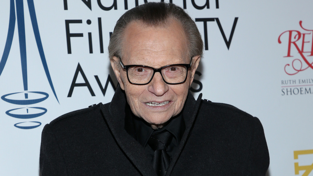 Larry King at the National Film & Television Awards