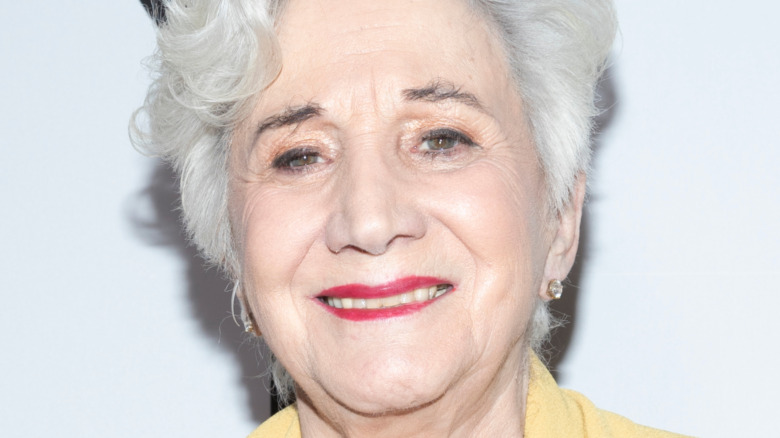 Olympia Dukakis on the red carpet