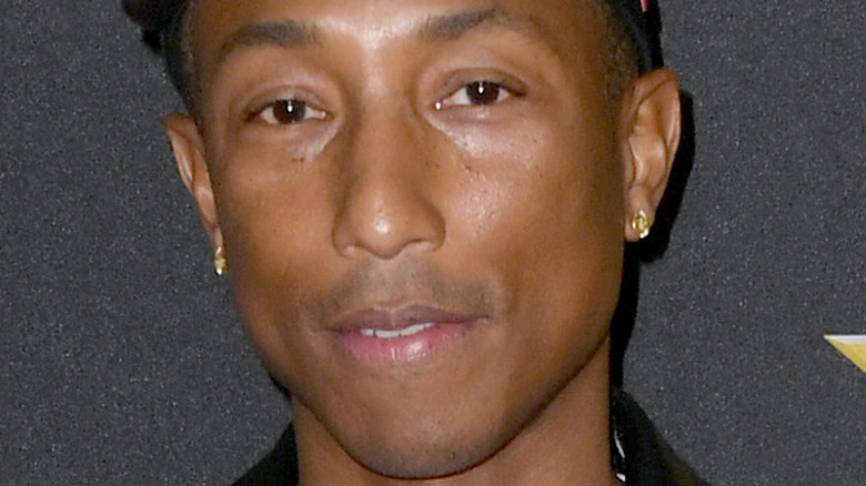 Pharrell Williams on a red carpet