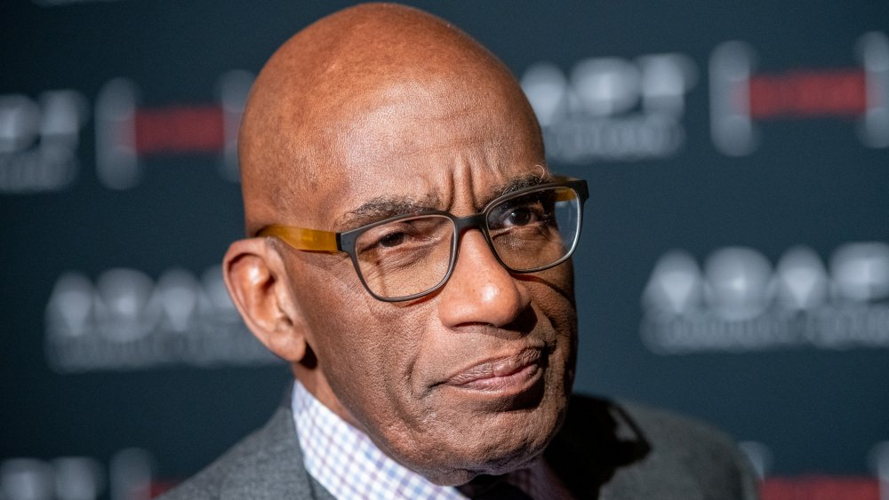 Al Roker with a serious expression
