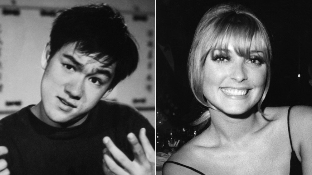 Bruce Lee and Sharon Tate