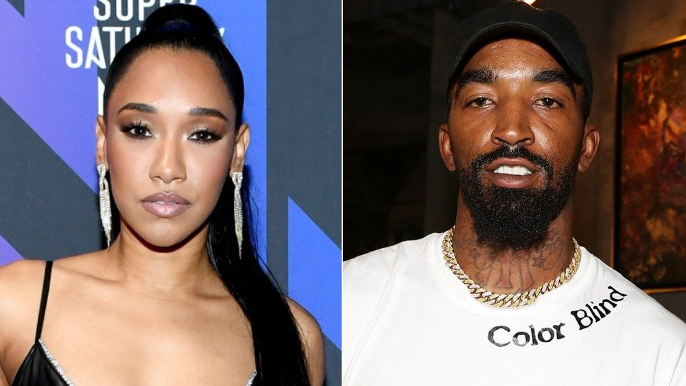 Candice Patton, J.R. Smith