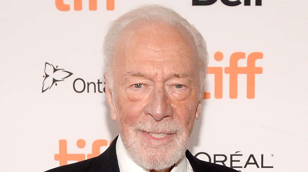 Christopher Plummer at a red carpet event