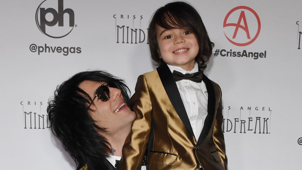 Criss Angel and Johnny Crisstopher