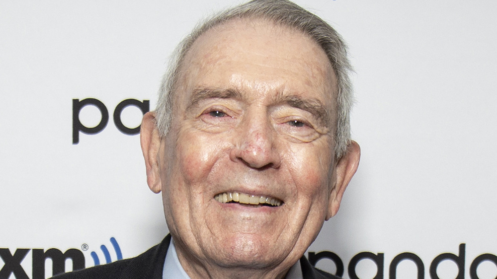 Dan Rather smiling
