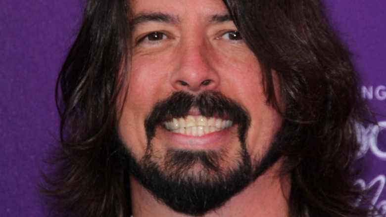Dave Grohl smiling