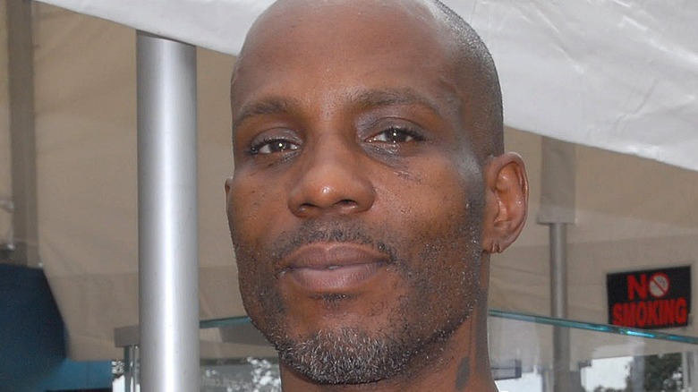 DMX facial hair